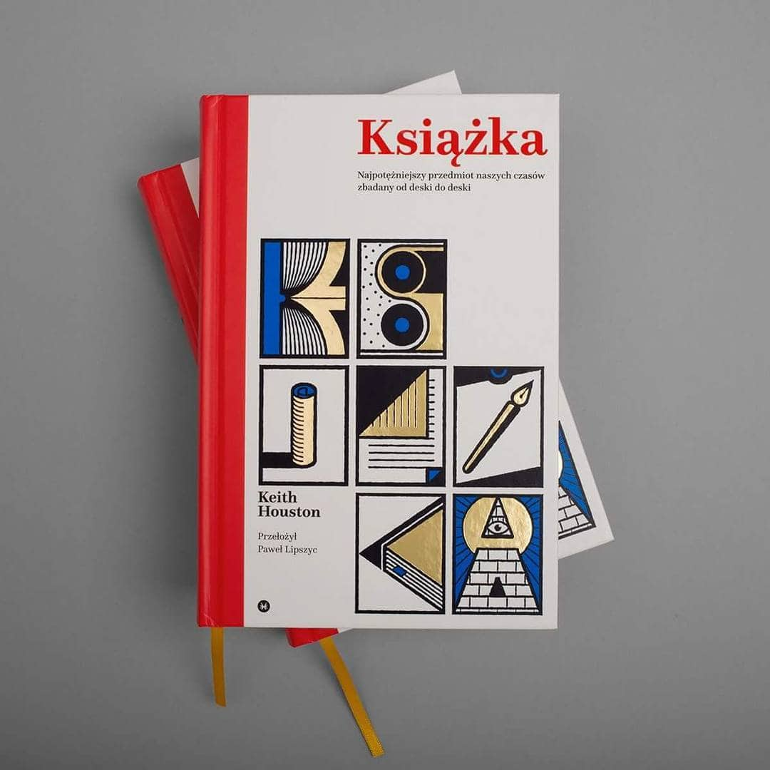 "Cover of ""Książka"", published by karakter.pl"