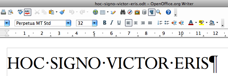 Showing hidden characters in OpenOffice Writer