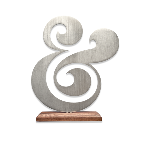 Ugmonk's excellent aluminium ampersand. Yours for a mere $54.00.