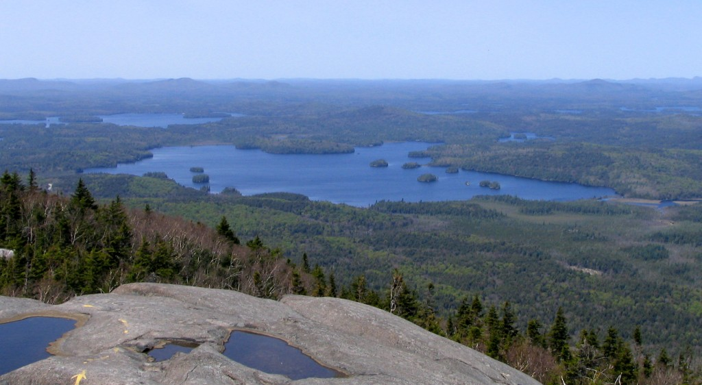 View from Ampersand Mountain, New York