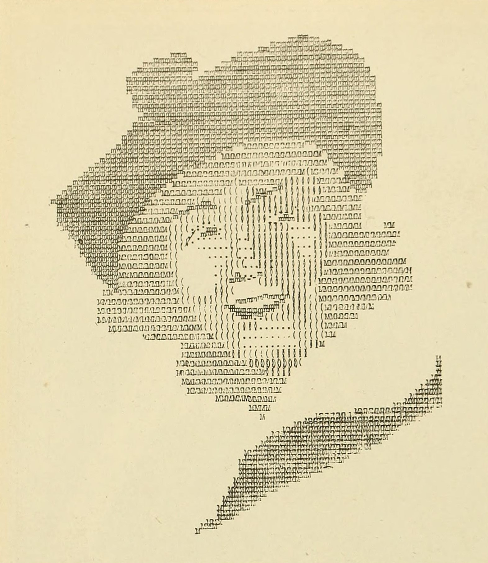 Typewritten portrait of Dorothy Gish