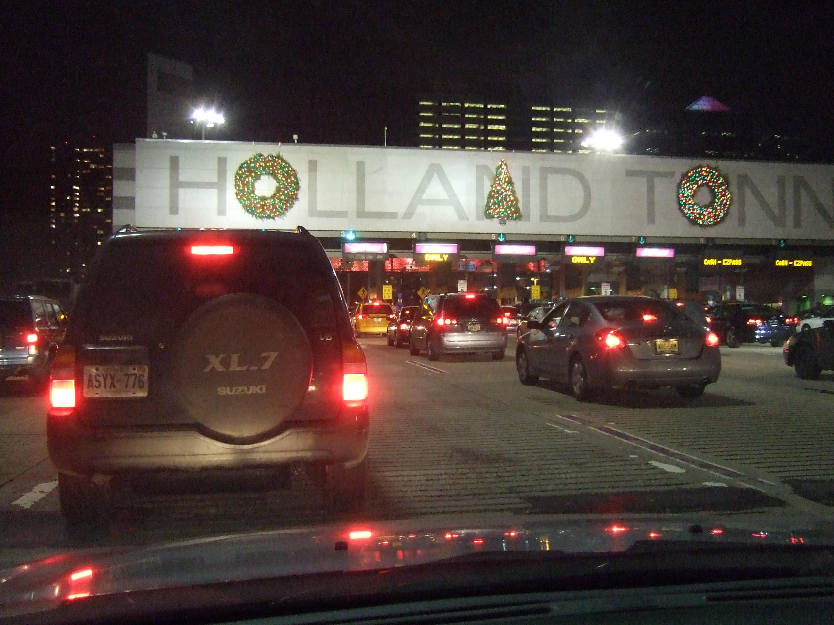 Holland Tunnel in December 2007