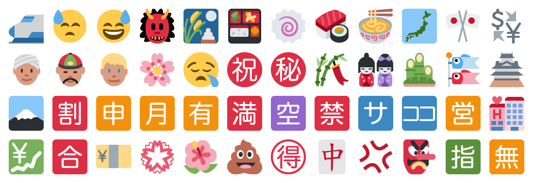 Culturally-specific symbols in Twitter's 2014 emoji
